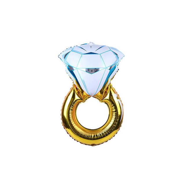 bague diamant gonflable