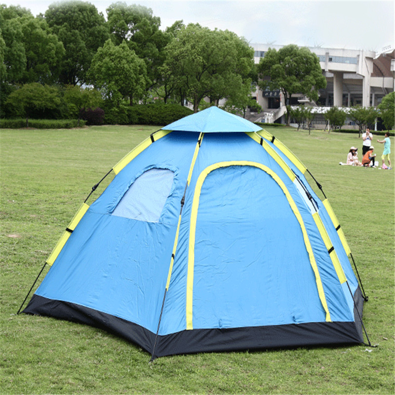 Водонепроницаемый палатки палатка камуфляж большой Семья Палатки 5-8 человек автоматическая палатки