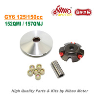 TZ 27 125cc 150cc Racing Variator Set GY6 Parts Chinese Scooter Motorcycle 152QMI 157QMJ Engine Spare Nihao Motor