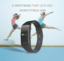 Heart Rate Smart Wristband Smartband Smart Band Sleep Monitor Call/SMS Reminder Bracelet For iPhone IOS Android