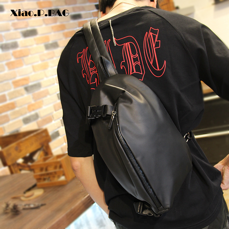 Xiao .P Bag Cross Body Shoulder Bag Small Cell Phone Waterproof Strap Sling Men Messenger Bags Travel Chest Pack Mens Chest Bags сумка xiao xiang bag x1803 2015