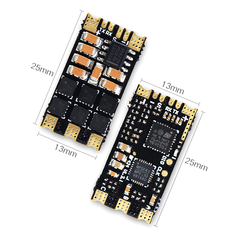 <font><b>JMT</b></font> <font><b>ESC</b></font> <font><b>30A</b></font> 32bit Process BLHeli-32 <font><b>ESC</b></font> RW.RC 2-4S Support 500HZ PWM Oneshot125 42 Multishot for RC FPV Racing Drone Quadcopter image