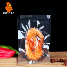 0.16mm 20-40cm Vacuum Nylon Clear Cooked Food Saver Packaging Bag Meat Snacks Tea Hermetic Storage Heat Sealing Plastic Package