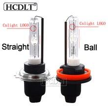 HCDLT оригинальный Cnlight Ксеноновые H7 H1 H11 HB3 HB4 D2H лампа 35 W 45 W 4300 K 5000 K 6000 K фар автомобиля Cnlight прямая шарика