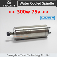 800W Electric Water Cooling Spindle 110V ER11 With 65MM Diameter 158MM Length For Cnc Router
