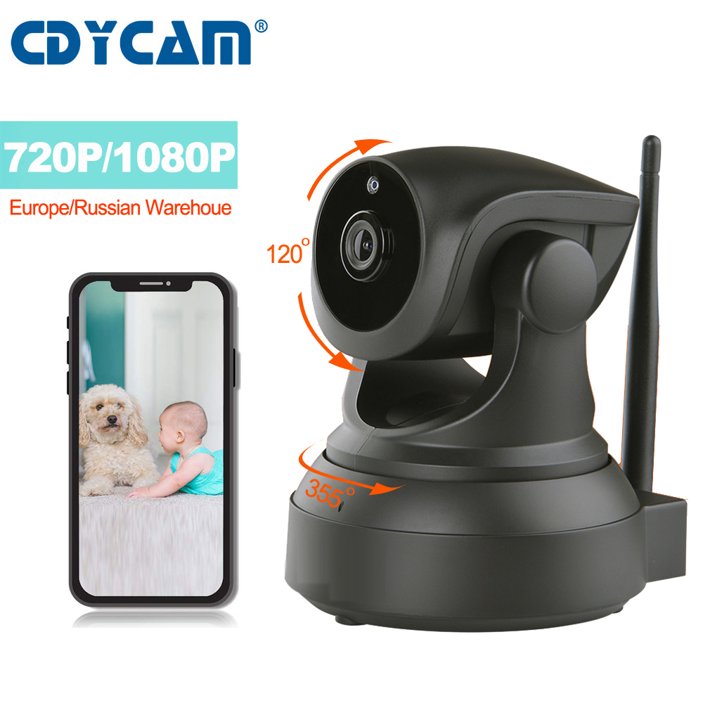 CDYCAM Mini IP Camera 2MP 1080P 720P Baby Monitor Night Vision CCTV Camera WiFi Wireless Home