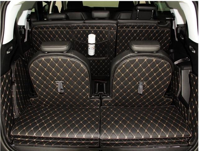 haute qualit sp cial tronc tapis pour peugeot 5008 2017 botte imperm able tapis cargo liner. Black Bedroom Furniture Sets. Home Design Ideas