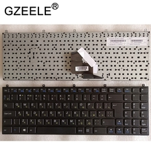 GZEELE Russian laptop Keyboard for Clevo W76 W760 W762 W765 W765S P150