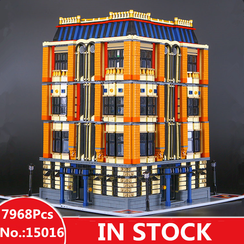 H & HXY EN STOCK 2017 15016 7968 pcs MOC Creative Le Apple L'université Ensemble Blocs de Construction Briques lepin DIY jouets
