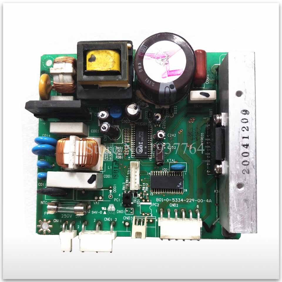90% new for Haier refrigerator computer board circuit board 0064000385 801-0-5334-229-00-3 driver board good working ty94086dh atm38 3 0 automotive computer board