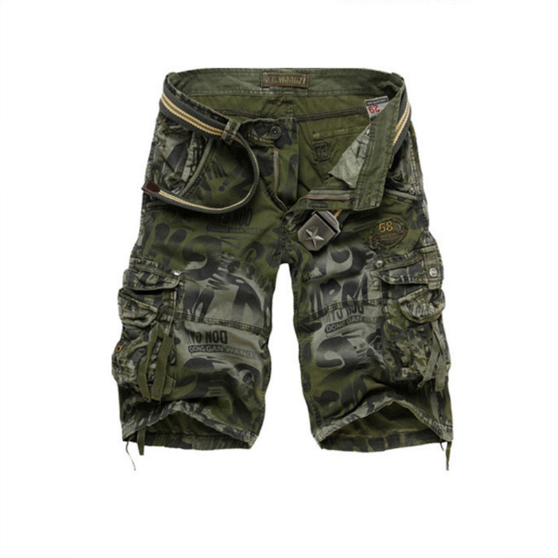 High Quality Shorts Men Cool Camouflage Summer Hot Sale Cotton Casual Men Short Pants Brand Clothing Comfortable Camo Men New Modern Design