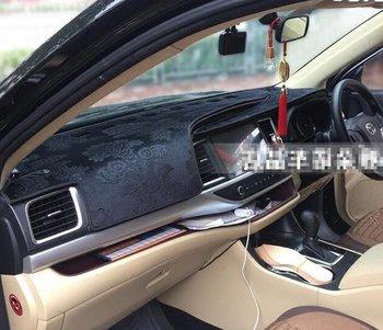 Flannel Dashmat Dashboard Covers Dash Car Mat Carpet car-styling for Toyota Highlander Kluger xu50 2014 2015 2016 2017 2018 2019