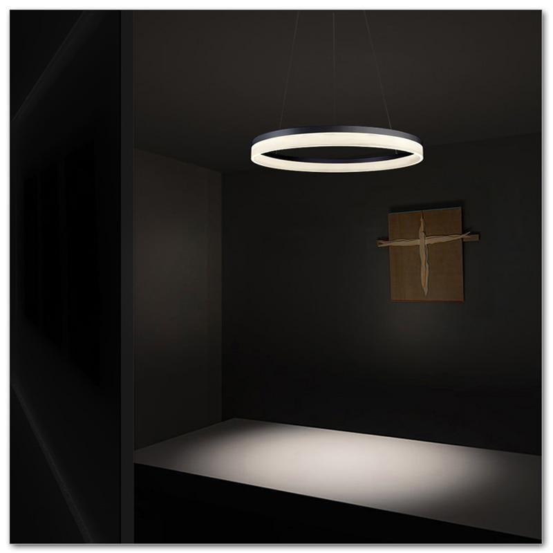 Single-layer circular chandelier, acrylic pendant lamp, AC90-265V 20cm salesSingle-layer circular chandelier, acrylic pendant lamp, AC90-265V 20cm sales
