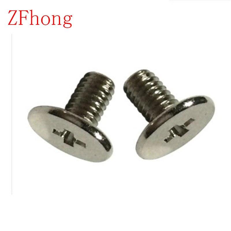1000pcs M3*3/4/5/6/7/8/10/12 flat and thin head computer black cover screw 20pcs m3 6 m3 x 6mm aluminum anodized hex socket button head screw