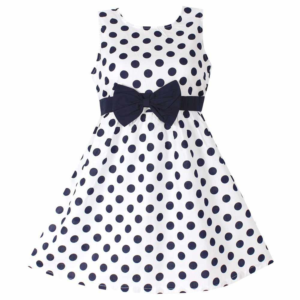 941107262 Detail Feedback Questions about New Girls Dress Polka Dot Bow 100 ...