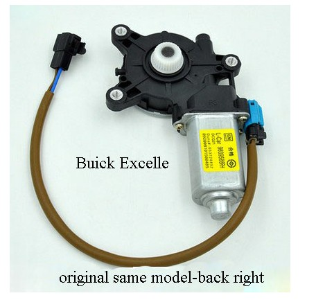 Buick Excelle Original Windows Auto Window Regulator Motor Regulator Rear Right window regulator motor for toyota camry window lifter motor 85720 33120