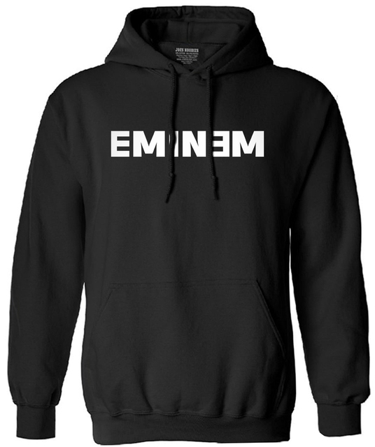 2017 new man long-sleeve sweatshirt letters sitcoms Eminem men male hooded tracksuit streetwear brand clothing fashion new S-XXL
