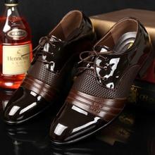 Men shoes formal shoes leather hot big size 38-47 superstar shoes man 2017 Spring/Autumn breathable shoe zapatos hombre