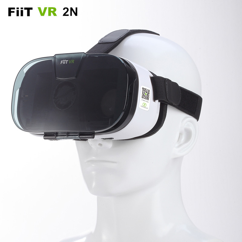 FiiT 2N 3D Video <font><b>Glasses</b></font> Helmet <font><b>BOX</b></font> <font><b>VR</b></font> Headset <font><b>Virtual</b></font> <font><b>Reality</b></font> Goggles Mobile 3 D Private Theater for 4.0-6.5 inch Smart Phone