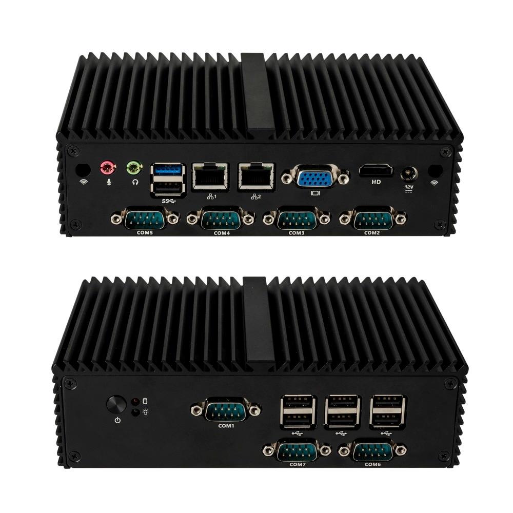 Latest New J1900 7 RS232 Fanless X86 Industrial mini desktop PC,Support PFsense,linux,cent os. Latest New J1900 7 RS232 Fanless X86 Industrial mini desktop PC,Support PFsense,linux,cent os.