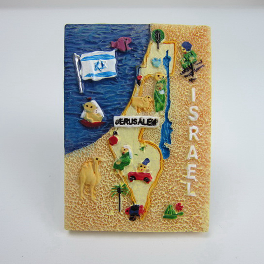 Israel Tourism Souvenir Fridge Magnets Creative Handmade ...