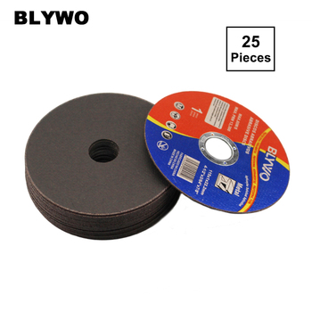 цена на 25 Pieces 115mm Diameter Metal Cutting Discs 4.5inch Cut Off Wheel 115mm Fiber Reinforced Resin Blade for Angle Grinder