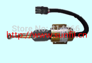3930235 Fuel Shutdown Solenoid Valve SA-4348-12 for  Engine,12V fuel shutdown solenoid valve 153es 2212480 sa 4269 12 12v for mitsubishi komatsu wa320 3 kubota