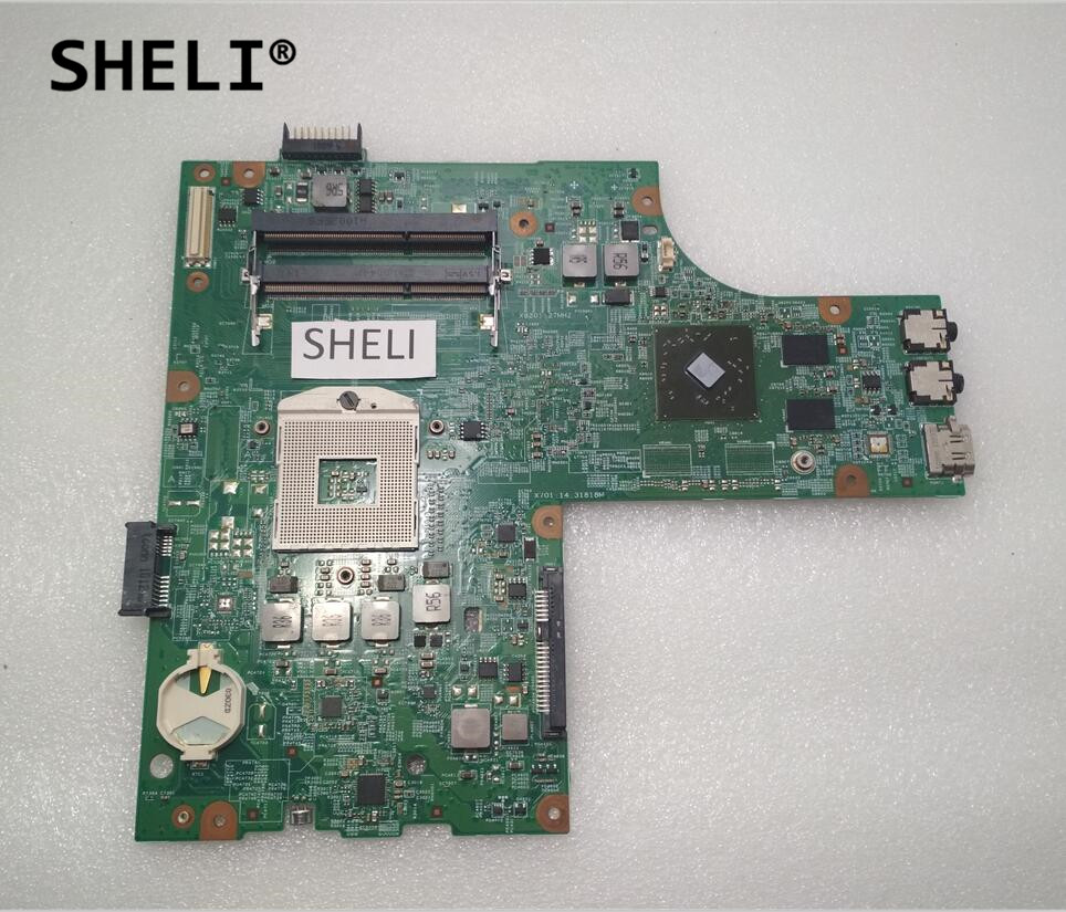 SHELI For DELL N5010 Motherboard with HD5470 48.4HH01.011 CN-0VX53T 0VX53T VX53T sheli for dell 1645 motherboard with hd 4670 1gb da0rm5mb8e0 cn 0y507r 0y507r y507r