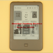 PDF eReader Tolino Shine built in Light WIFI e-ink 6 inch 1024 x 758 electronic have kindle kobo in shop e book(China)