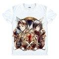 Ataque em titã camisa Shingeki não Kyojin legião Cosplay asa camiseta homem Anime traje Eren Levi T - dia das bruxas Tees