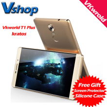 Original Vkworld T1 Plus 4G Android 6.0 Quad Core RAM2GB ROM16GB 6.0inch 720P 13MP Camera 4300mAh VR Box OTG Fingerprint