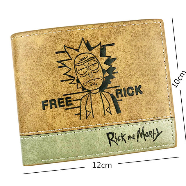 Portefeuille Homme En Cuir Rick And Morty 1