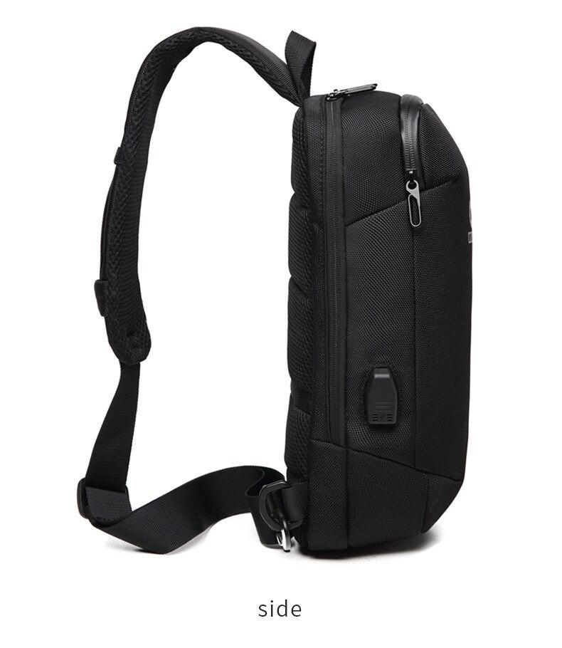 saco ocasional repelente de água viagem bolsa de ombro