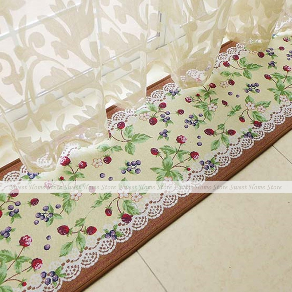 yazi Fruit Cherry Party Extra Long Kitchen Rug Bedroom Floor Carpet Mat  180x40cm China. Compare Prices on Extra Long Bath Mats  Online Shopping Buy Low