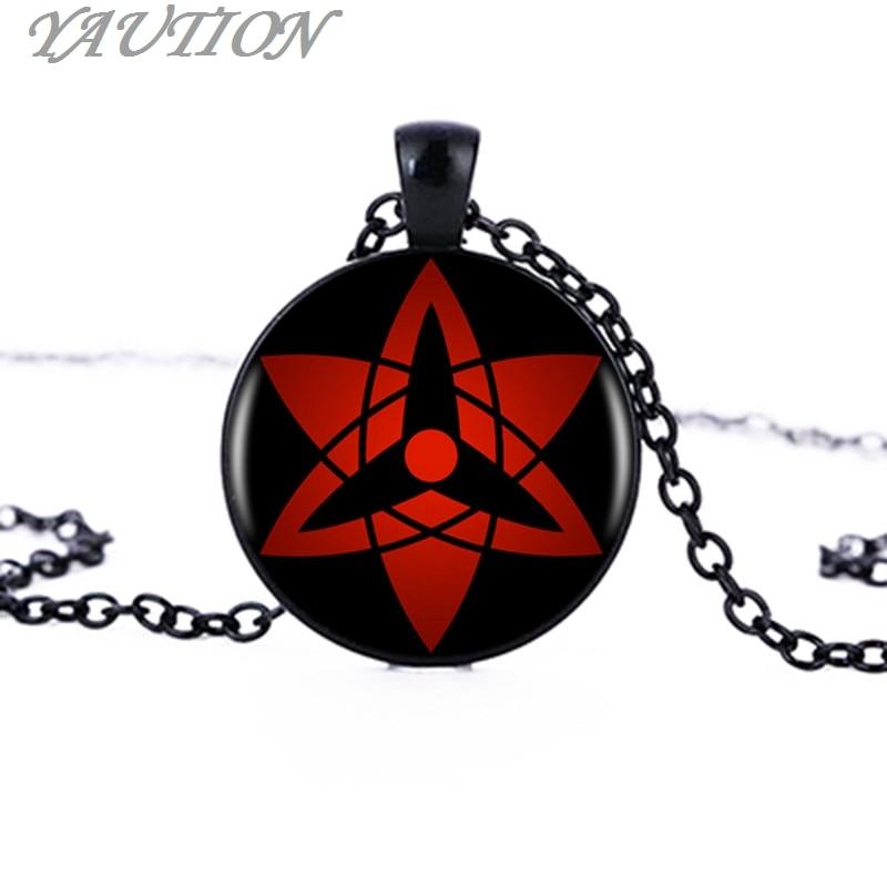 Wholesale Naruto Sharingan Shippuuden Eyes Pendant Necklace