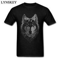 Inverno Wild Wolf T-Shirt Moda Uomo Banda 100% Cotone Tshirt 3D Print Slim Fit Tee Shirt The Chosen One