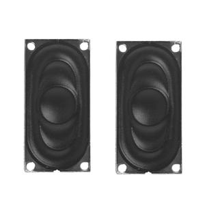 1 Pair Mini Audio Speakers 2040 8Ohm 2 W For Notebook Computer Speaker Portable