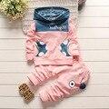 2016 new  clothing sets Children hoodies spring autumn clothes set kids sport tracksuit set baby t-Shirt+Pants 2Pcs