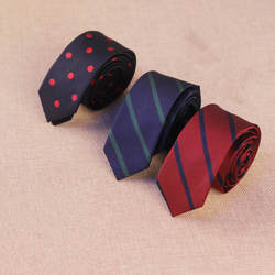5 см Корейская версия для мужчин Классические точки Полосатый плед повседневное узкий галстук мода взрыв Бизнес Узкие галстуки