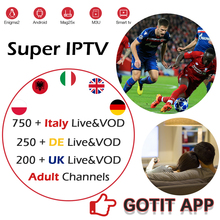 Best Italian Super IPTV subscription For Italy Portugal UK Germany Spain Albania Support M3U MAG250 Android Smart TV Box Enigma2 best italian super iptv subscription for italy portugal uk germany spain albania support m3u mag250 android smart tv box enigma2