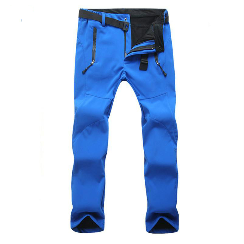Men Waterproof Softshell Pants Mountain Trekking Fishing Fleece Quick Dry Outdoor Pantalon Camping Randonnee Homme Hiking Pant