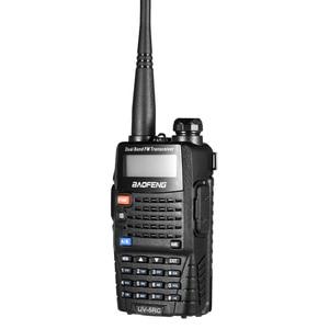 Image 2 - 2 PCS Baofeng UV 5RC Walkie Talkie Dual Double Band Ham VHF UHF Radio Station Transceiver Boafeng Communicator Walkie Talkie PTT