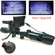 Wholesale prices Upgrade Outdoor Hunting Optics Sight Tactical digital Infrared night vision telescope binoculars with  LCD use in day and night