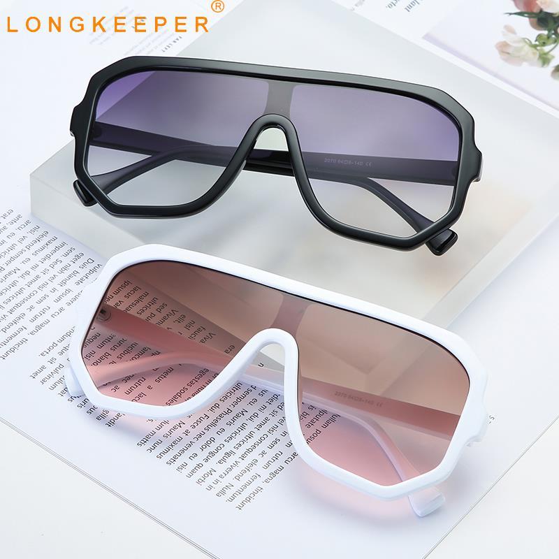 Брендовые Дизайнерские Большие Квадратные Солнцезащитные очки для женщин винтажные негабаритные солнцезащитные очки модные женские очки UV400 Oculos 9030