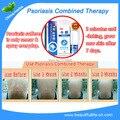 2 Sets anti psoriasis treatment, eczema psoriasis. psoriasis cream & liquid natural solution cure skin disease