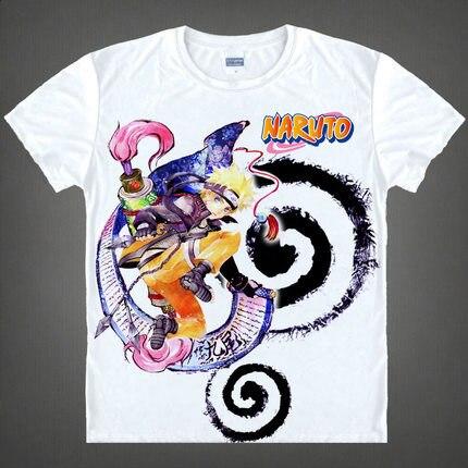 Naruto Printed Short Sleeve Shirt
