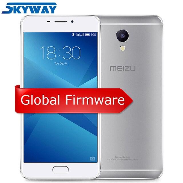 "Ban đầu Meizu M5 Note 3 GB RAM 32 GB ROM 4G LTE Helio P10 Octa Core Điện Thoại 5.5 ""1920x1080 Vân Tay ID Pin 4000 mAh"