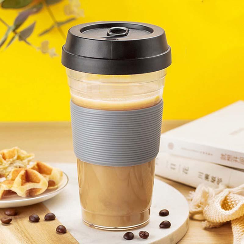 360/480ml PP Plastic Coffee Cups Travel Coffee Mug With ...
