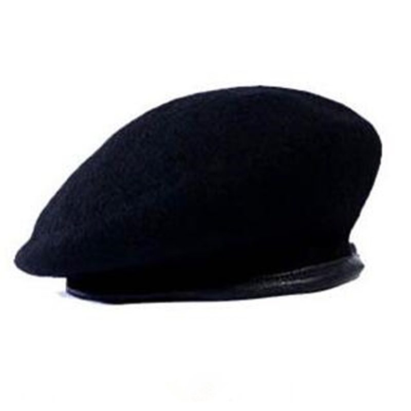 2017 Men And Women Outdoor Breathable Pure Wool Beret Hats Caps Special Forces Soldiers Death Squads Military Training Camp Hat