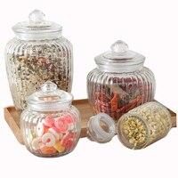 Keuken Glas Verzegelde Potten Deksel Opslag Fles Voedsel Candy Opslag Tea Container Canning Sealing Mason Potten Huishoudelijke Opslag Tool